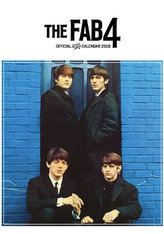 The Beatles FAB4 - nástěnný kalendář 2018