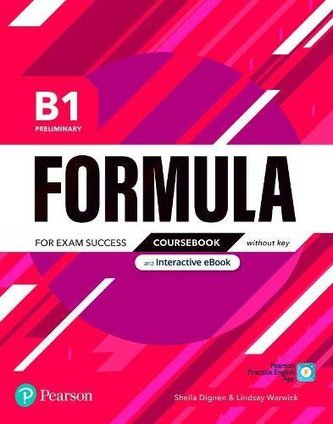 Formula B1 Preliminary Coursebook and Interactive eBook without Key with Digital Resources & App