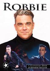 Robbie Willams - nástěnný kalendář 2018