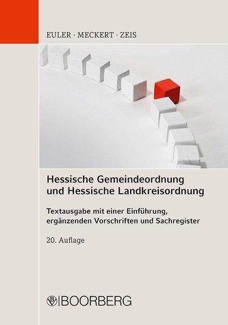 Hessische Gemeindeordnung und Hessische Landkreisordnung