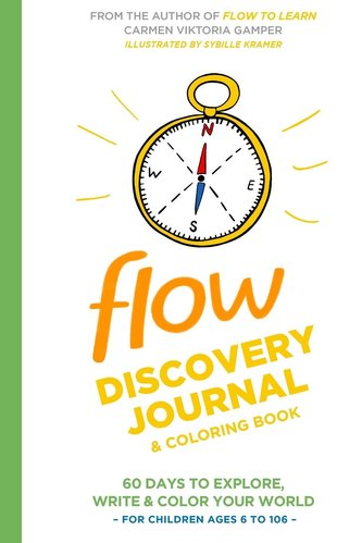 Flow Discovery Journal and Coloring Book