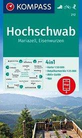 KOMPASS Wanderkarte Hochschwab, Mariazell, Eisenwurzen 1:50 000