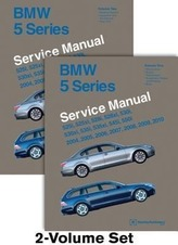 BMW 5 Series (E60, E61) Service Manual: 2004, 2005, 2006, 2007, 2008, 2009, 2010: 525i, 525xi, 528i, 528xi, 530i, 530xi, 535i, 5