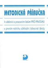 Metodická příručka k učebnici a pracovním listům pro prvouku v 1.r.ZŠ