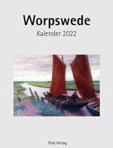 Worpswede 2022. Kunstkarten-Einsteckkalender