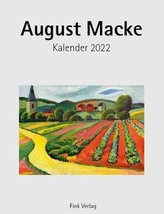 August Macke 2022. Kunstkarten-Einsteckkalender
