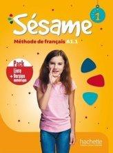 Sesame 1 podręcznik + podręcznik online /PACK/