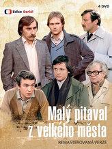 Malý pitaval z velkého města (remastrovaná verze) - 4 DVD