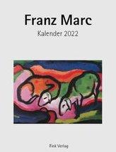 Franz Marc 2022. Kunstkarten-Einsteckkalender