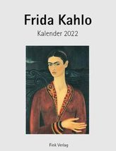 Frida Kahlo 2022. Kunstkarten-Einsteckkalender