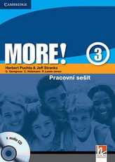 More! Level 3 Workbook with Audio CD Czech Edition: Level 3