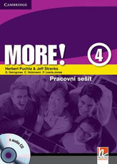 More! Level 4 Workbook with Audio CD Czech Editon: Level 4