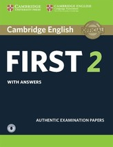 Cambridge English First 2 Student´s Book with Answers and Audio : Authentic Examination Papers