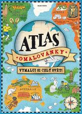 Atlas omalovánky - Vymaluj si celý svět!
