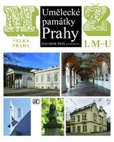 Umělecké památky Prahy M/Ž, komplet!(1.díl M-U, 2. díl V-Ž)