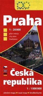 Praha Česká republika největší zobrazené území 2017