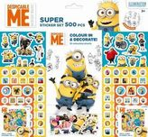 Super sticker set 500 ks Mimoni