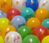 Balónky směs - zvířátka, color, kulaté