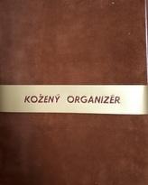 Kožený organizér A4