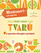 Moje první kniha plná tvarů se spoustou úžasných samolepek (Montessori: Svět úspěchů)