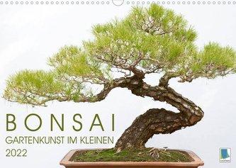 Bonsai: Gartenkunst im Kleinen (Wandkalender 2022 DIN A3 quer)