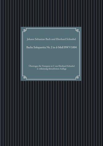Bachs Solopartita Nr. 2 in d-Moll BWV1004