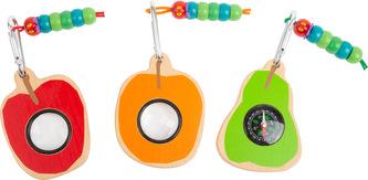 Small Foot Badatelský nástroj Caterpillar 1 ks oranžové pozorovátko