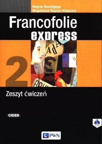 Francofolie express 2 Zeszyt ćwiczeń PWN