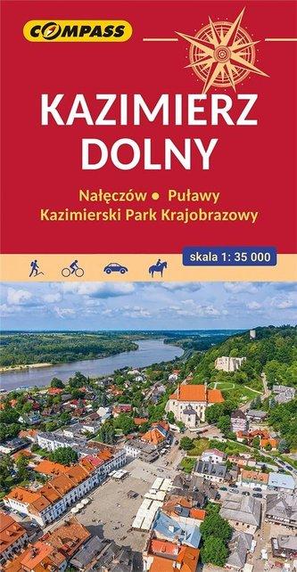 Mapa turystyczna - Kazimierz Dolny 1:35:000
