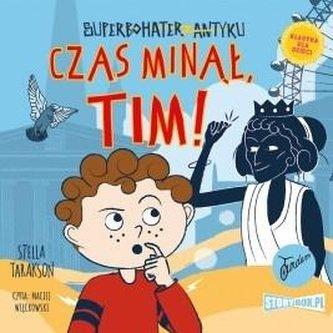 Superbohater z antyku. T.10 Czas..audiobook