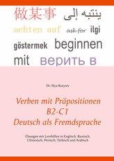 Verben mit Präpositionen B2-C1 Deutsch als Fremdsprache