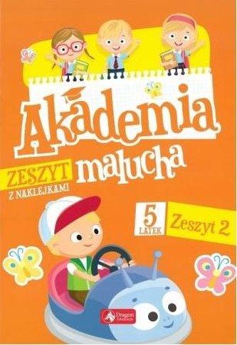 Akademia malucha dla 5-latka. Zeszyt 2