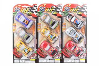 Sada závodních autíček