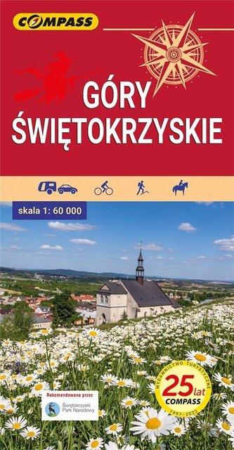 Mapa turystyczna - Góry Świętokrzyskie 1:60 000