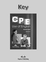 CPE Use of English. Answer Key