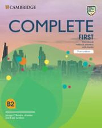 Complete First Workbook without Answers with Audio, 3rd