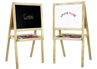 Jeujura Dřevěná oboustranná multifunkční tabule