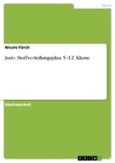 Judo. Stoffverteilungsplan 5.-12. Klasse