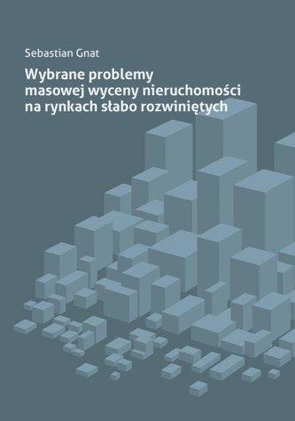 Wybrane problemy masowej wyceny nieruchomości...