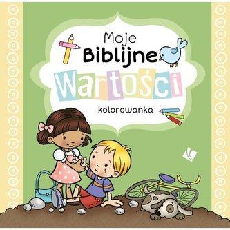 Moje Biblijne wartości - kolorowanka