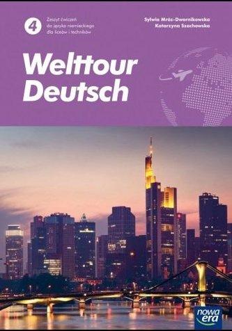 J. Niemiecki 4 Welttour Deutsch ćw. 2021 NE
