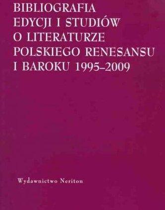 Bibliografia edycji i studiów o literaturze..