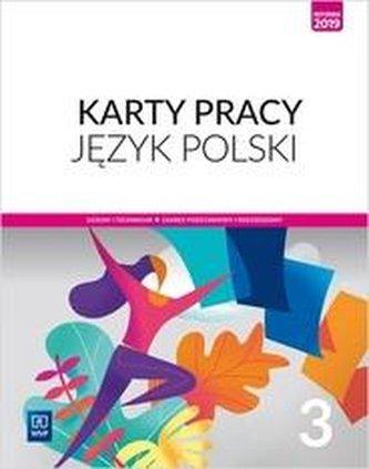 J.polski LO 3 Karty Pracy ZPiR 2021 WSiP