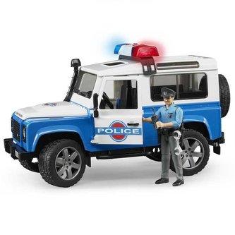 Bruder Land Rover policie s figurkou