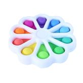 POP IT Simple Dimple - senzomotorická hračka květina