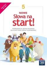 J.Polski SP 5 Nowe Słowa na start! Podr. 2021 NE