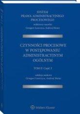 System Prawa Administracyjnego Procesowego Tom 2 Część 3
