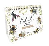 Tischkalender 2022 - Wilde Bienen