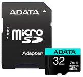 ADATA Premier Pro 32GB microSDHC / UHS-I I3 V30S CLASS10 / + adaptér
