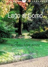 Lago di Como Ansichten 2022 (Wandkalender 2022 DIN A4 hoch)